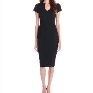 Fitted black Black Halo dress